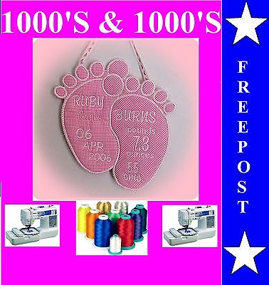 Baby Embroidery Designs For Embroidery Machines, 1000's Of Designs J21X