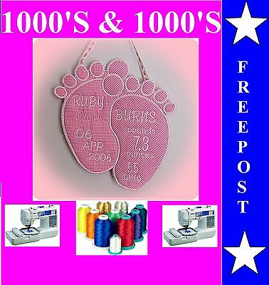 Buy Any 2 Cds & Get Free Font Cd, Baby Embroidery Designs,1000's Of Design J21X