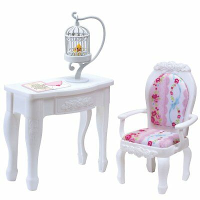 Takara Tomy Licca Doll Princess Chair & Table  doll not included  (852858)