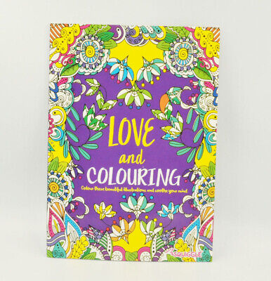 Adult Colouring Book Stress Relief - Realxation Art Therapy Colour Calming