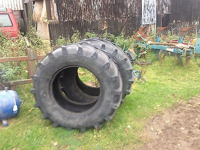 650/65/28r Tyres Tractor Front Back