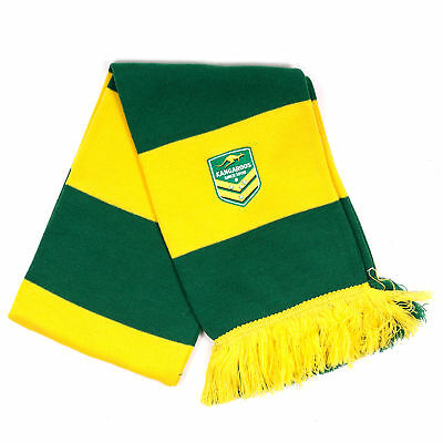 Canterbury Australia Kangaroos Rugby Supporter Scarf Green/Yellow