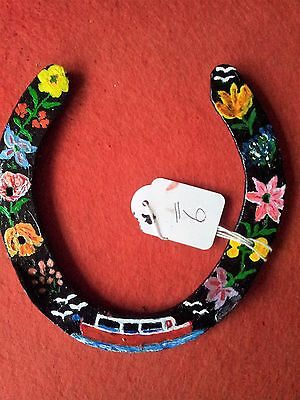 Hand Painted Canal Boat Narrow Boat Lucky Horseshoe