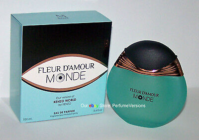 Fleur D Amour Monde Perfume For Women Eau De Parfum Spray 3 4 Oz