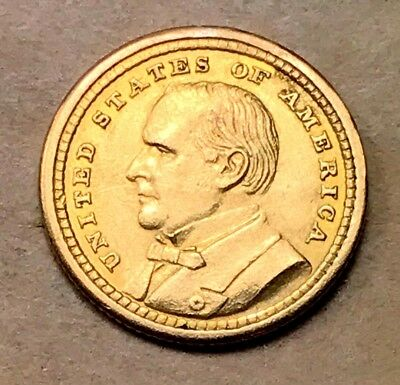 1903 McKinely $1 Gold Commemorative AU/UNC Details