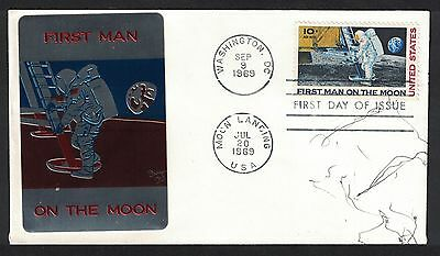 C-76 - First Man On The Moon - Sarzin - Not Addressed