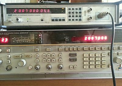 Agilent HP 8673E  2.0-18.0 GHz Synthesized Signal Generator