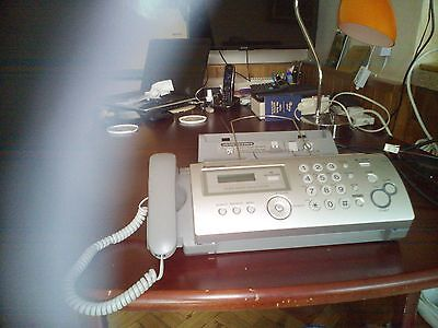 Panasonic Fax with Digital Answering System and Genuine Panasonic Ink Film Packs