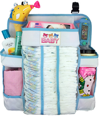 3 Baby Bears Crib and Changing Table Organizer - Non-Sagging Nursery Organizer