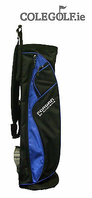 Forgan Pitch and Putt Bag - Black/Blue