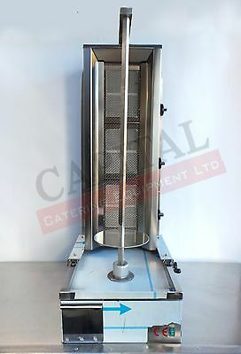 Ozex Doner Kebab Machine 3 Burner Slim Size *Brand New*