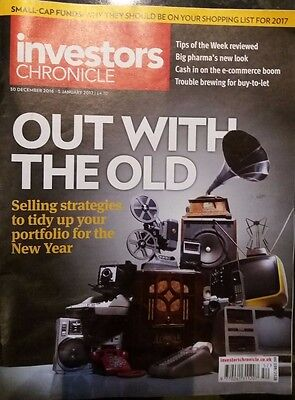 Out with The Old, Investors Chronicle, 30 Dec - 5 Jan 2017