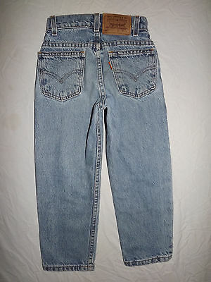 Levi's 550 Youth Size 6 Jeans Relaxed Fit