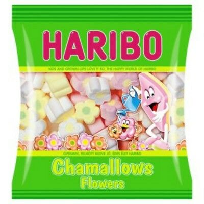 Caramelle Haribo Chamallows flowers 100gr X5PZ