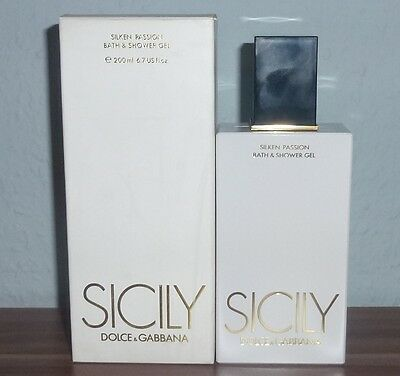 Dolce & Gabbana SICILY Silken Passion - Bath & Shower Gel 200 ml