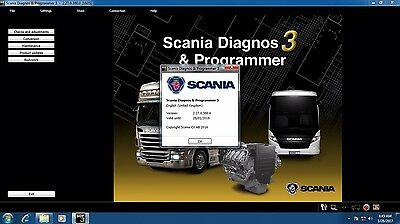 SCANIA SDP3 2.27 DIAGNOSTIC SOFTWARE TRUCK AND BUS 2016 + 2 years work license