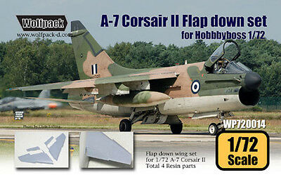 A-7 Corsair Ii Flap Down Set Wolfpack 72014 1/72 For Hobby Boss