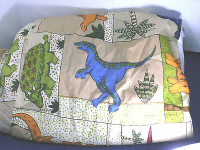 Whisper Soft Mills~Twin Size DINOSAURS BEDSKIRT~Awesome!!