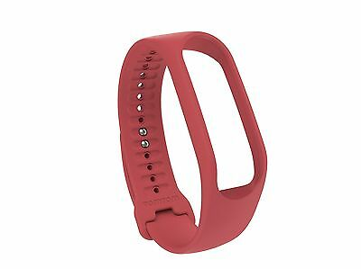 TomTom Touch Body Composition Fitness Tracker Strap Red Large