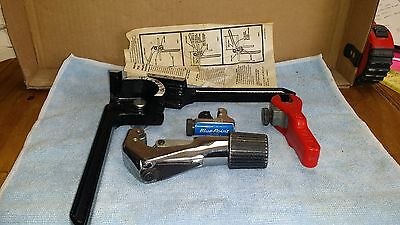 Blue Point Sold by Snap-On Tubing Cutter Specialized Set Bender Cutters Ratcheti
