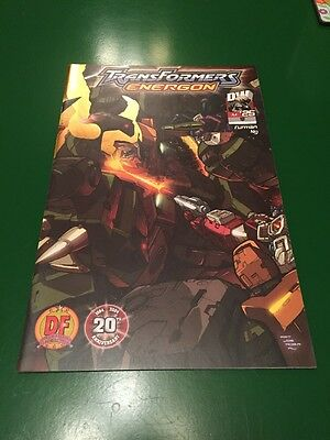 Transformers: Energon #25 Super Rare Dynamic Forces Exclusive Cover