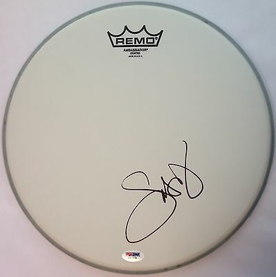 """Snoop Dogg Lion Signed 12"""" Remo Drumhead PSA/DNA COA X40836"""