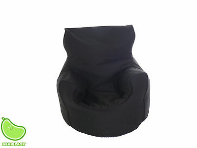Toddler Size Black Bean Seat / Chair With Beans By Bean Lazy