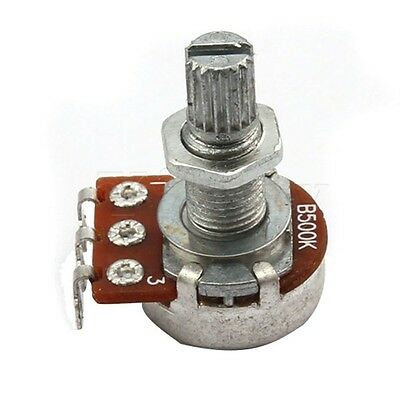 Potenciometro Tono y audio guitarra electrica B500  Guitar Potentiometer 16mm
