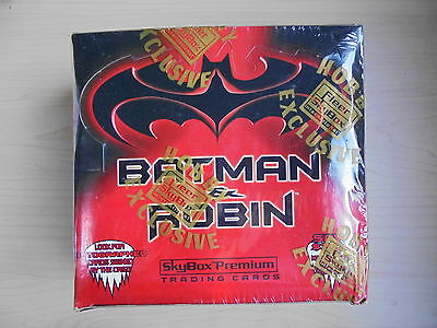 Fleer SkyBox 1996 Batman & Robin Trading Card Box Sealed