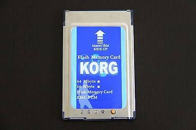 Korg pa 80 64MB Flash Memory Card Speicher 4x 16MB in einer Geähuse pa80 mit LED