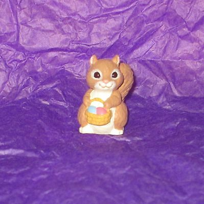 HMK Merry Miniature 1995 Easter Squirrel Selby