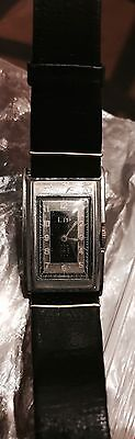 Vintage LIP Watch 1940`s French old watch Bi-Metal Case art-deco