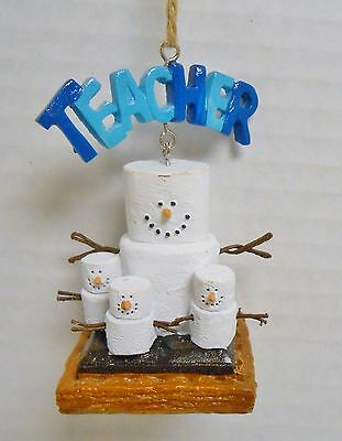 Midwest  Creek S'mores Teacher S'more 2016 Christmas Ornament
