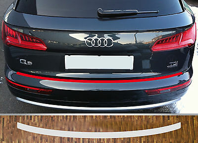 clear protective foil bumper protection transparent Audi Q5, from 2016