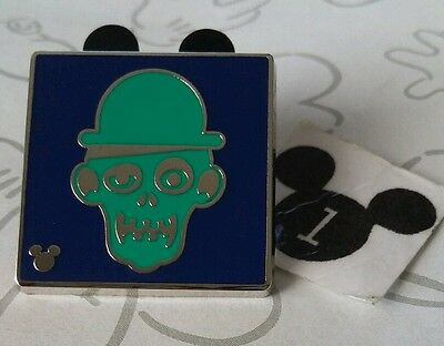 Ezra Haunted Mansion Attraction Icons 2016 2017 Hidden Mickey DLR Disney Pin