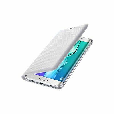 Authentic Samsung Galaxy S6 Edge + S6 Edge Plus Wallet Flip Cover White