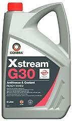 Comma Xstream G30 Antifreeze & Coolant - Ready To Use - 5 Litre - Xsm5L