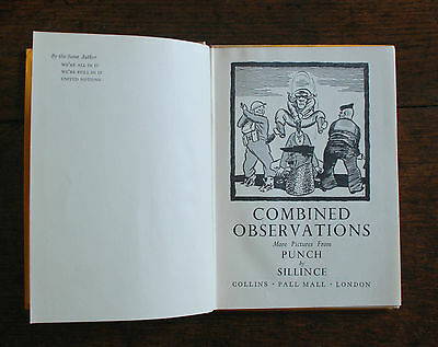 Combined Observations (Sillince, W. A. - 1944) Pictures from Punch by Sillince