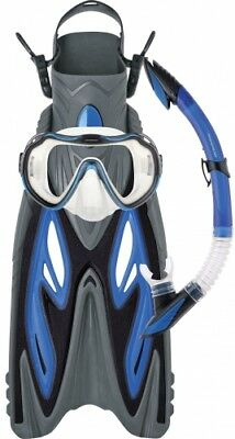 NEW Mirage Diamond Gold Series  Snorkel Set With Fins - Large / Extra Large
