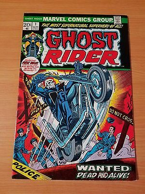Ghost Rider #1 ~ VERY FINE - NEAR MINT NM ~ (1973, Marvel Comics)