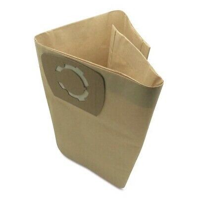 To Fit Parkside PNTS 1400/1500 23 30/4 30/8E 30/9E 30 litre Dust Bags 5 Pack