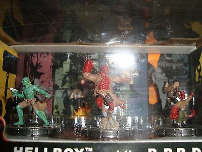 HeroClix Hellboy and B.P.R.D Action Pack 7 Figures in Sealed New Package
