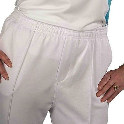 Taylor Ladies Bowls Trousers - White - Brand New!