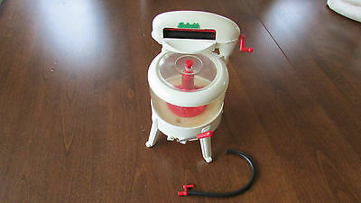 Rare Vintage Reliable Toy Washing Machine 1960's