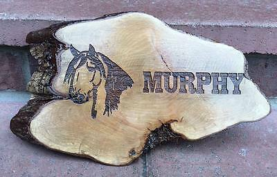 Stunning Horse Plaque Sign, Stable Name Plate, Address, Number Gift Equestrian
