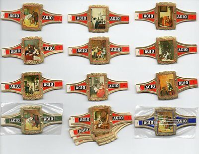 Cigar Bands. Agio Full Sets to choose