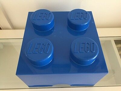 LEGO 4 brick Storage Block - BLUE