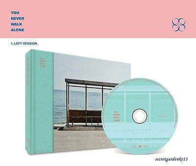 BTS YOU NEVER WALK ALONE WINGS [LEFT Ver.]  : CD+Photobook+Photocard+Poster+Gift