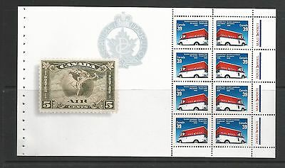 CANADA POST CORPORATION  BOOKLET PANE OF 8  # 1273a