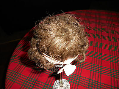 Baby Doll Hair Wig For A Small Doll